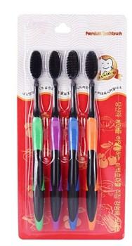 Бамбуковые зубные щетки с углем - фото 5363