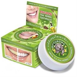 Тайская зубная паста Binturong с экстрактом зеленого чая - фото 5411