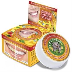 Тайская зубная паста Binturong с экстрактом манго - фото 5419
