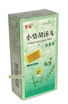 Сяо Чай Ху Тан Вань, Xiao Chai Hu Tang Wan, 小柴胡汤丸, противовоспалительные - фото 6046