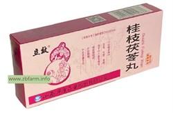 Гуйчжи фулин вань, Gui Zhi Fu Ling Wan, - фото 6061
