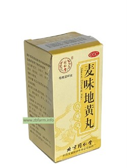 Май Вэй Ди Хуан Вань, Mai Wei Di Huang Wan, 麦味地黄丸 - фото 6069