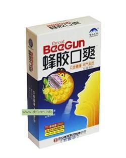 Спрей с прополисом для горла BeeGun, 30 мл. - фото 6101