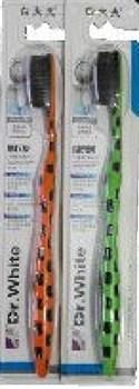 Бамбуковая зубная щетка, взрослая, 1 шт. - фото 6129