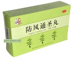 Фан Фэн Тун Шэн Вань, Fang Feng Tong Sheng Wan, 防风通圣丸  - фото 6150