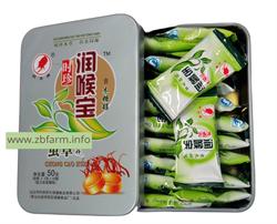 Леденцы CHONG CAO HUA HAN PLAN от боли в горле с кордицепсом, 20 шт. - фото 6349