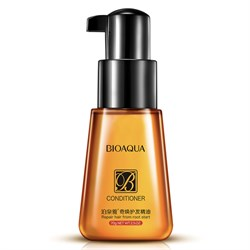 Флюид для гладкости и блеска волос БиоАква, 70 мл.