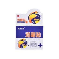 Пластырь мозольный Baozhongbao, 6 шт.