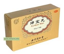 Пилюли от менопаузы Kunbao wan, Куньбао вань 坤宝丸