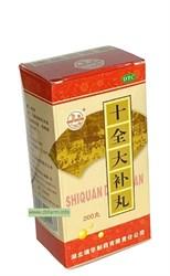 Шицюань дабу вань, Shiquan Dabu Wan, 十全大补丸