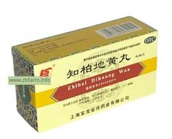Чжи Бай Ди Хуан Вань, Zhibai Dihuang Wan, 知柏地黄丸